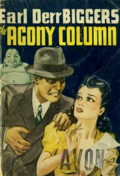 Avon Books - The Agony Column - Earl Derr Biggers