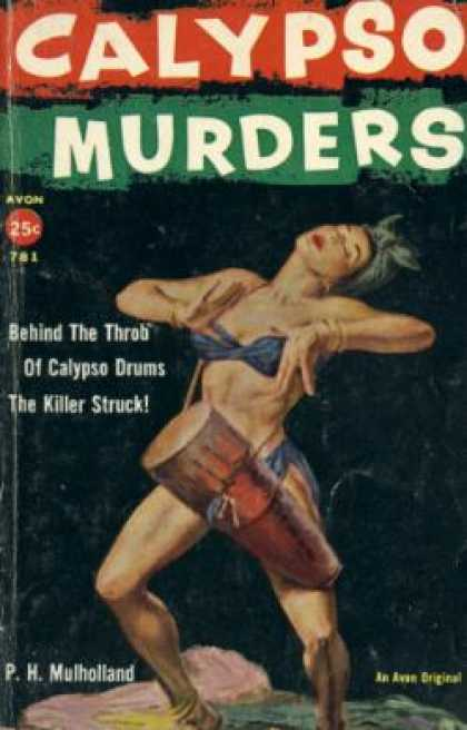 Avon Books - The Calypso Murders - P. H Mulholland