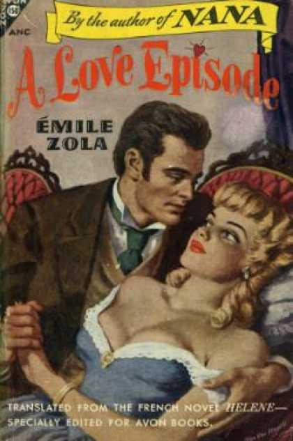 Avon Books - A Love Episode - Emile Zola