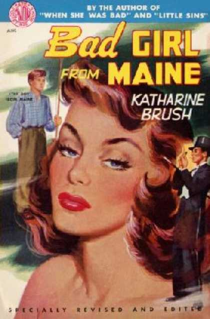 Avon Books - Bad Girl From Maine - Katharine Brush