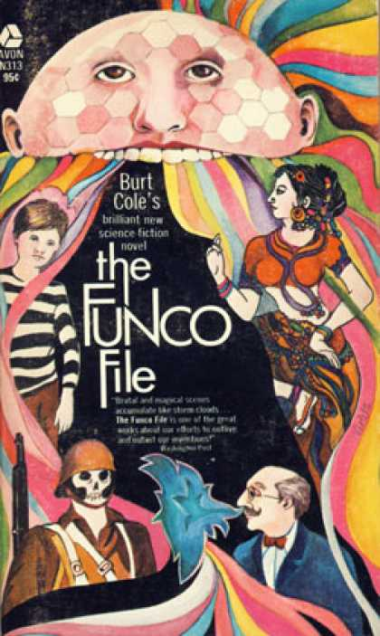 Avon Books - Funco File - Burt Cole