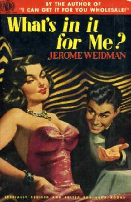 Avon Books - What's In It for Me? - Jerome Weidman