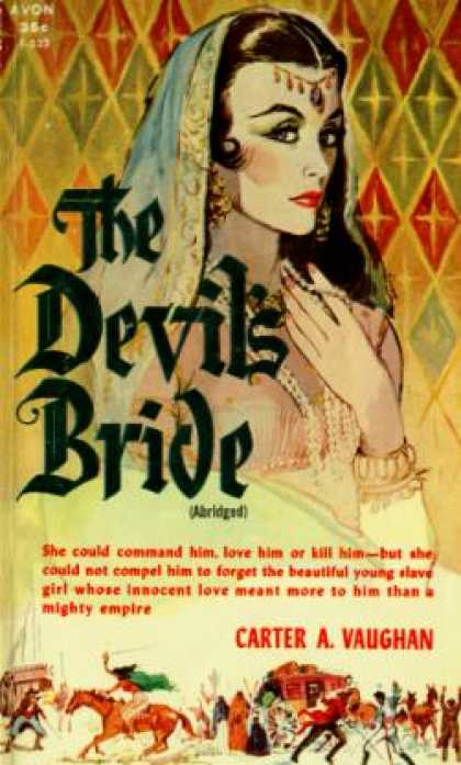Avon Books - The Devil's Bride - Carter A. Vaughan