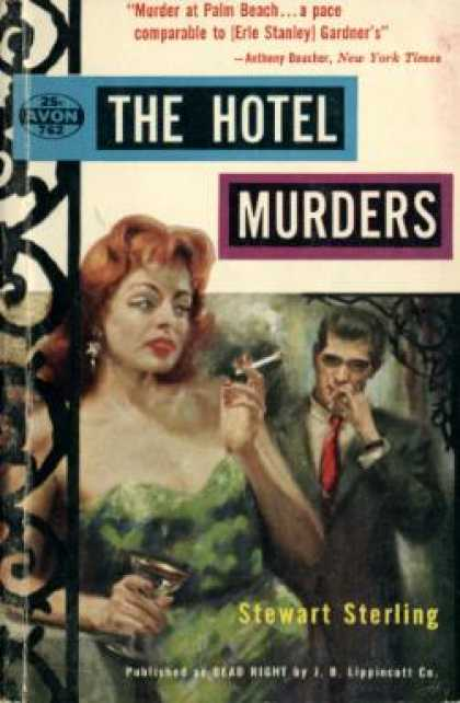 Avon Books - The Hotel Murders - Stewart Sterling