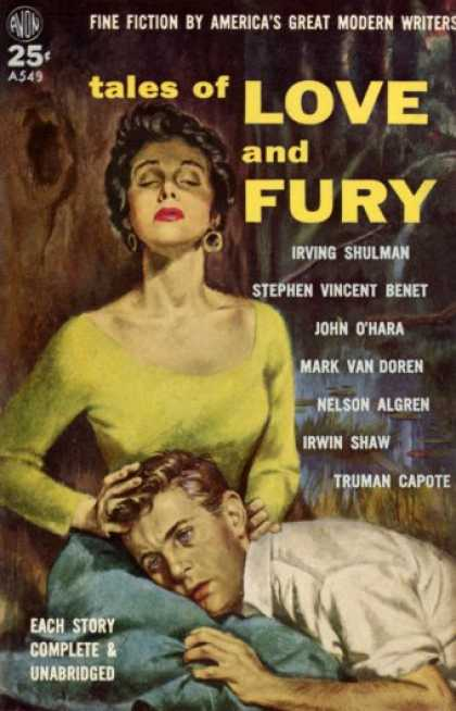 Avon Books - Tales of Love and Fury - Nelson Algren & Others Truman Capote