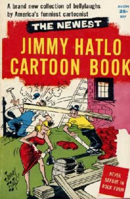 Avon Books - The Newest Jimmy Hatlo Cartoon Book: They'll Do It Every Time - Jimmy Hatlo