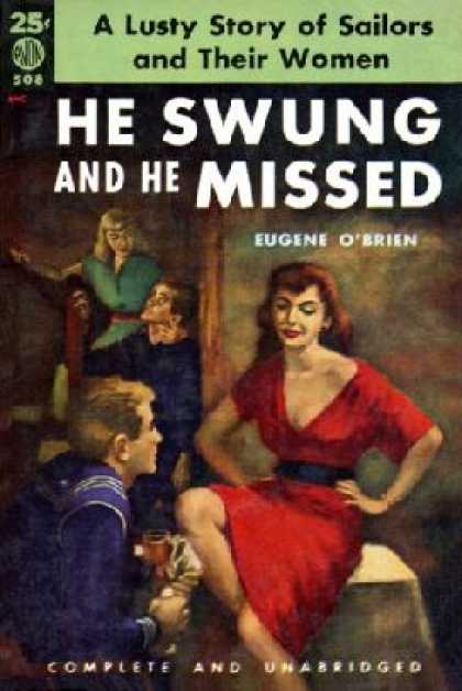 Avon Books - He Swung and He Missed - Eugene O'brien