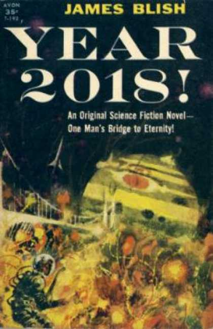 Avon Books - Year 2018! - James [cover Art Possibly By Richard M. Powers] Blish