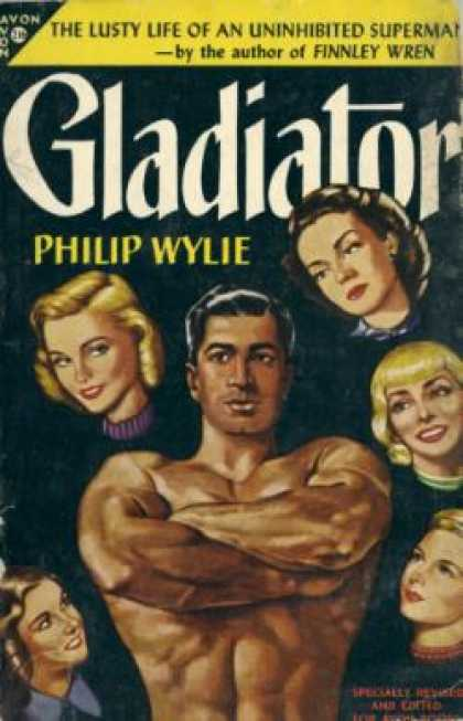 Avon Books - Gladiator - Philip Wylie