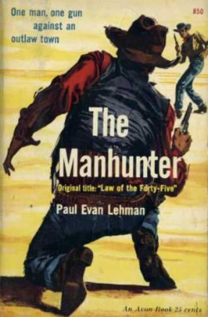 Avon Books - Law of the Forty-five - Paul Evan Lehman