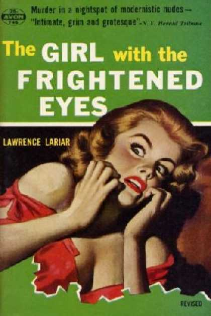 Avon Books - The Girl With the Frightened Eyes - Lawrence Lariar