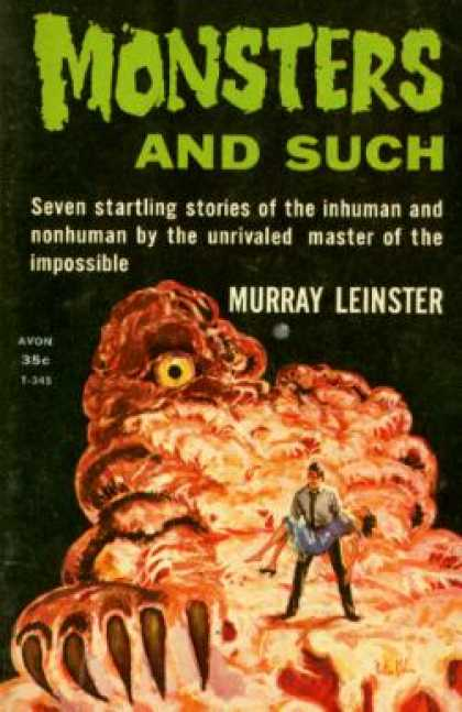 Avon Books - Monsters and Such - Murray. Leinster