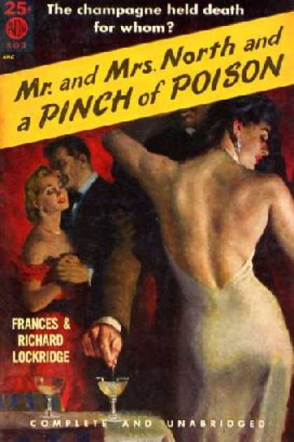 Avon Books - Mr. and Mrs. North and a Pinch of Poison - Frances & Richard Lockridge