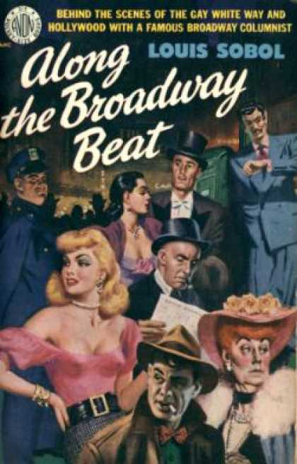 Avon Books - Along the Broadway Beat - Louis Sobol