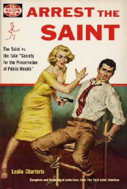 Avon Books - Arrest the Saint