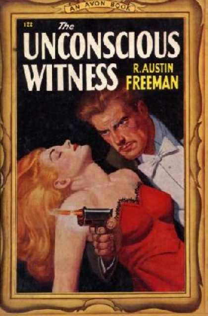 Avon Books - The Unconscious Witness - R. Austin Freeman
