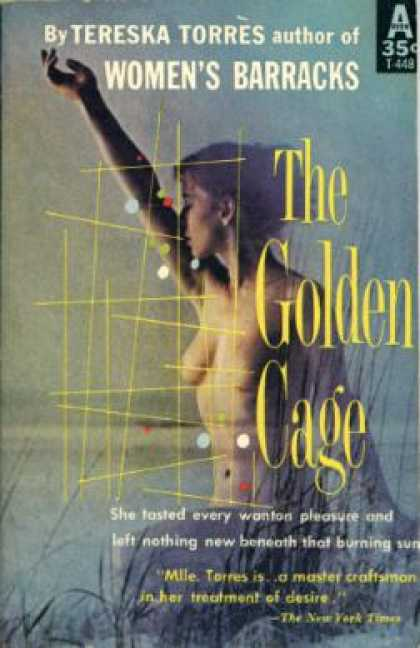 Avon Books - Golden Cage, the - Tereska (tr By Meyer Levin) Torres