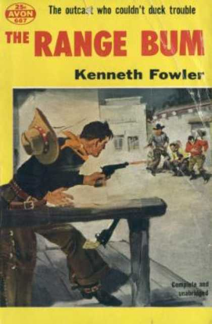 Avon Books - The Range Bum - Kenneth Fowler
