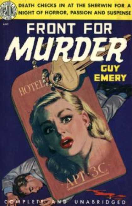 Avon Books - Front for Murder - Guy Emery