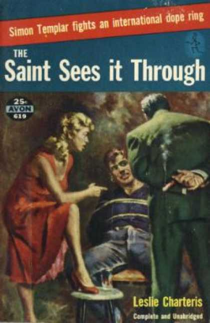 Avon Books - The Saint Sees It Through