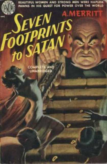 Avon Books - Seven Footprints To Satan, - Abraham Merritt