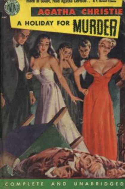Avon Books - A Holiday for Murder - Agatha Christie