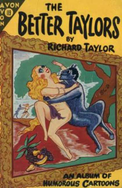 Avon Books - The Better Taylors - Richard Taylor