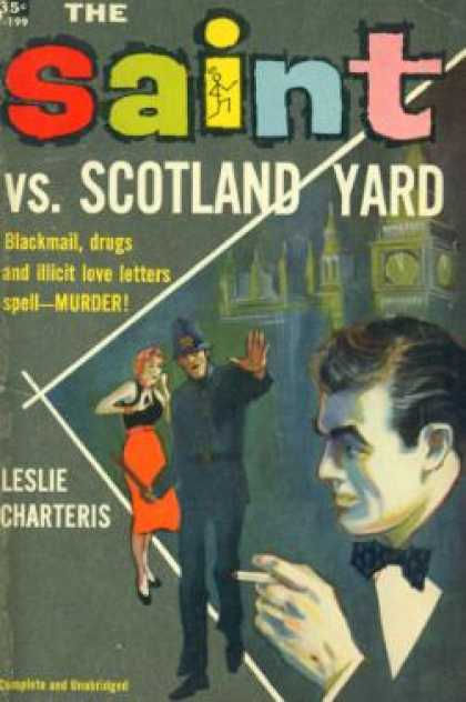 Avon Books - The Saint Vs. Scotland Yard
