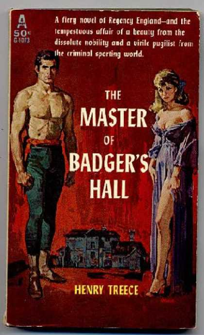Avon Books - The Master of Badger's Hall - Henry Treece