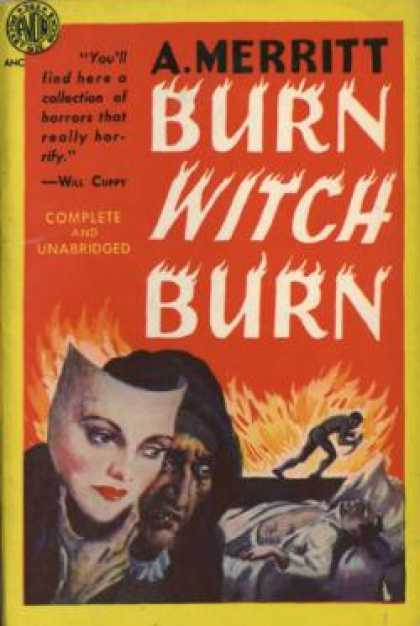 Avon Books - Burn Witch Burn - A. Merritt