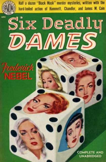 Avon Books - Six Deadly Dames