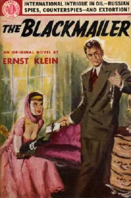 Avon Books - The Blackmailer - Ernst Klein