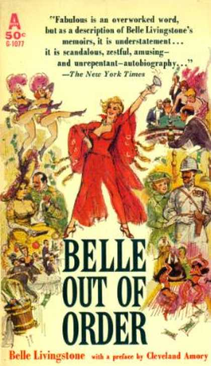 Avon Books - Belle Out of Order - Belle Livingstone