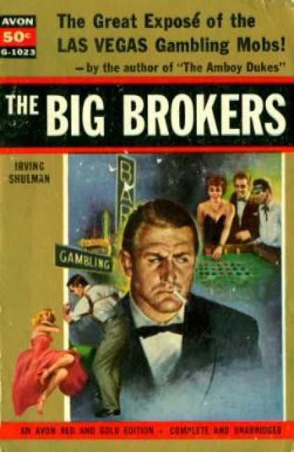 Avon Books - The Big Brokers - Irving Shulman