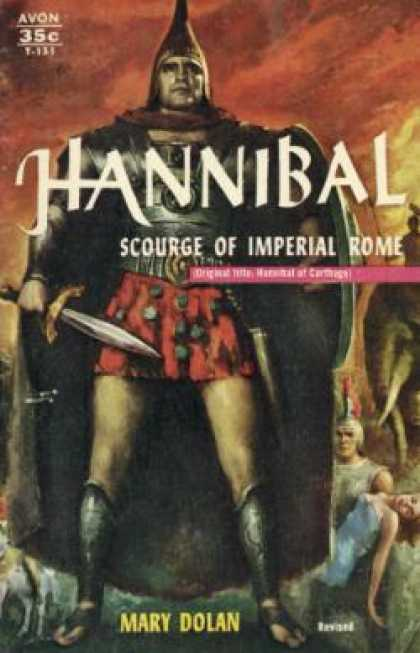 Avon Books - Hannibal: Scourge of Imperial Rome (avon T-151) - Mary Dolan