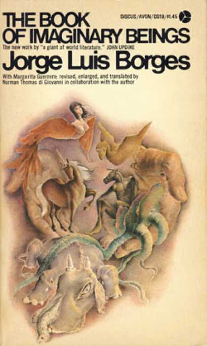 Avon Books - The Book of Imaginary Beings - Jorge Luis Borges