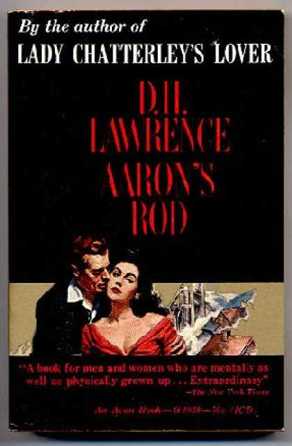 Avon Books - Aaron's Rod - D. H. Lawrence