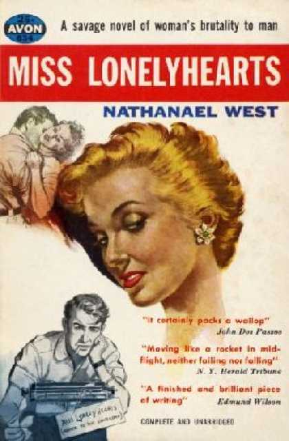 Avon Books - Miss Lonelyheart's - Nathanael West