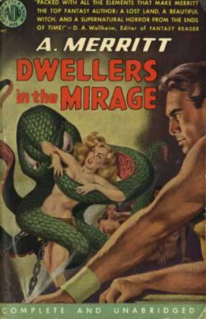 Avon Books - Dwellers In the Mirage