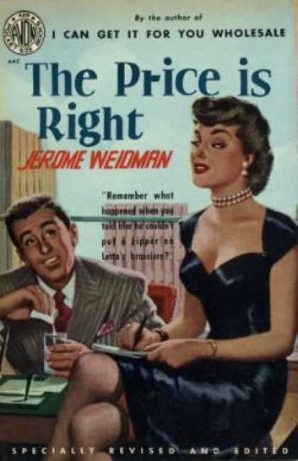 Avon Books - The Price Is Right - Jerome Weidman