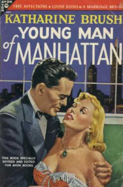 Avon Books - Young Man of Manhattan - Katharine Brush