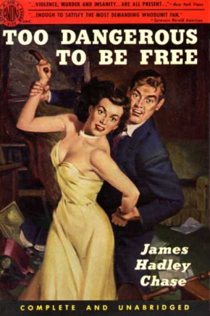 Avon Books - Too Dangerous To Be Free - James Hadley Chase