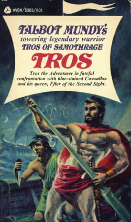 Avon Books - Tros of Samothrace Volume 1: Tros - Talbot Mundy