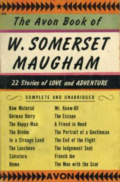 Avon Books - The Avon Book of Somerset Maugham: 22 Stories From Cosmopolitan - W. Somerset Ma
