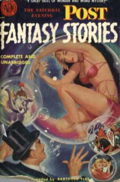 Avon Books - The Saturday Evening Post Fantasy Stories - Barthold [rear Admiral D. V. Gallery