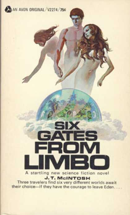 Avon Books - Six Gates From Limbo - J. T. Mcintosh