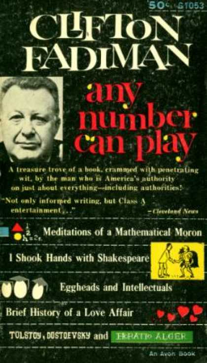 Avon Books - Any Number Can Play - Clifton Fadiman