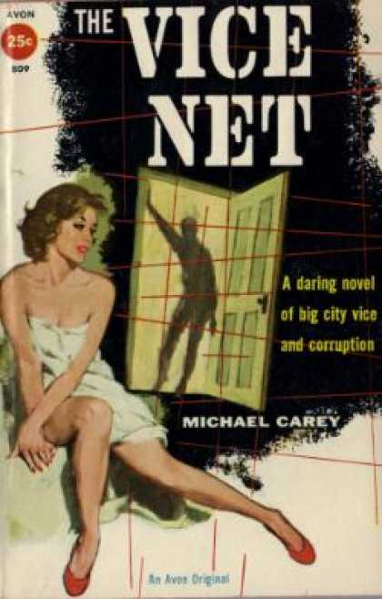 Avon Books - The Vice Net - Michael Carey