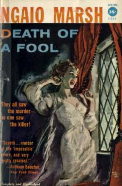 Avon Books - Death of a Fool - Ngaio Marsh