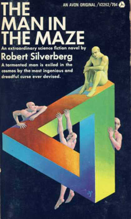 Avon Books - The Man In the Maze - Robert Silverberg